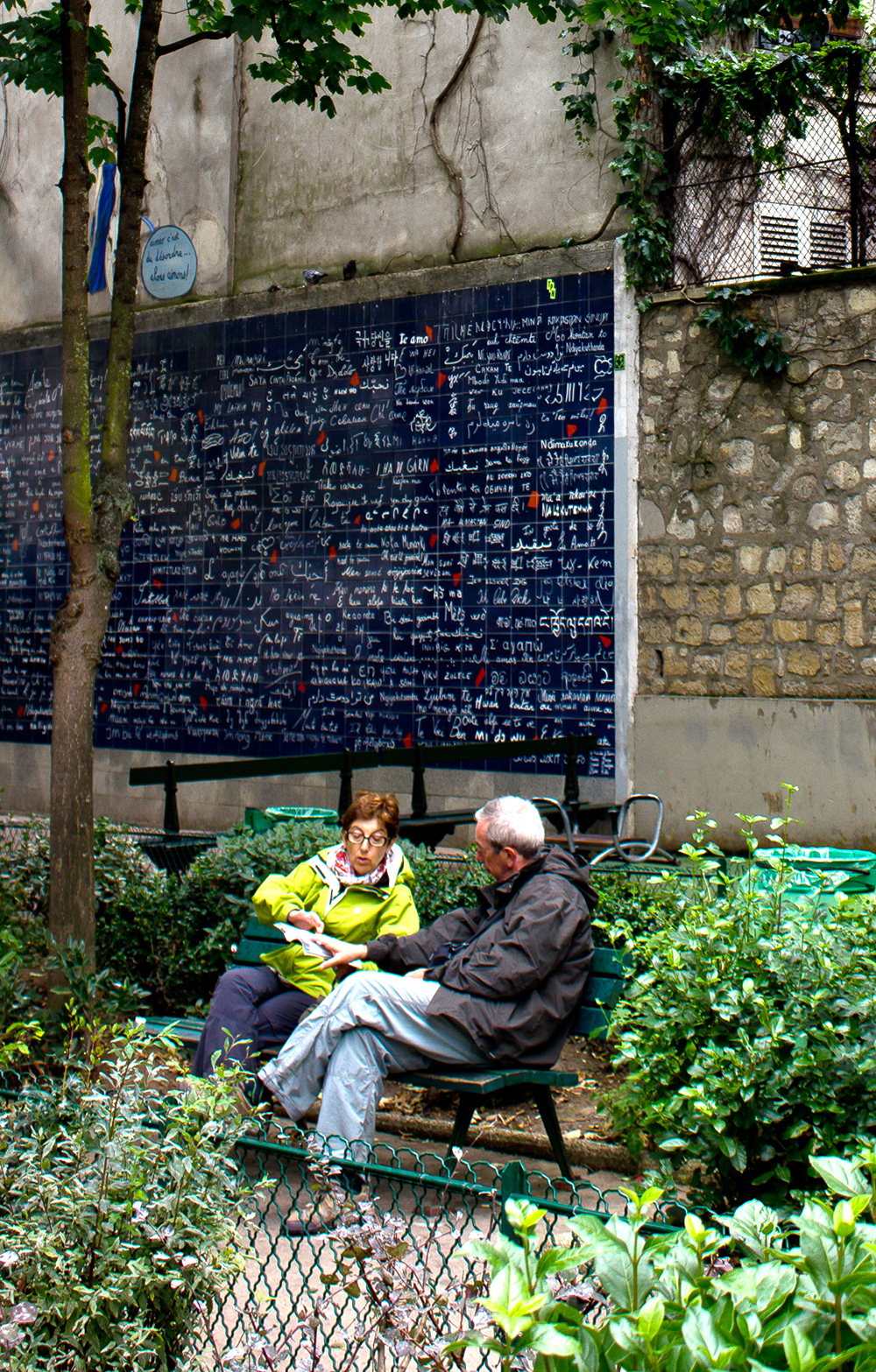 Jean Rictus Square is a quiet little park in Paris, near Abbesses, where you can to sit and catch your breath.